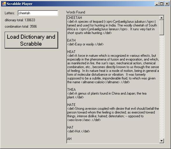 C# ScrabblePlayer, find permutations and sub permutations