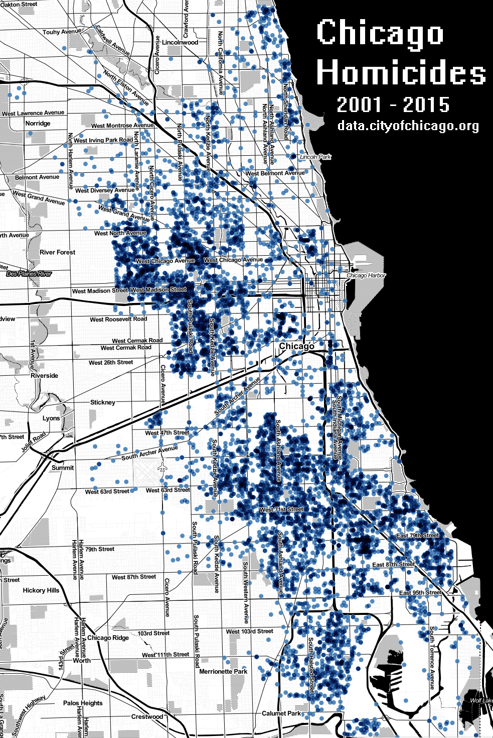 Chicago Homicides 2001 2015