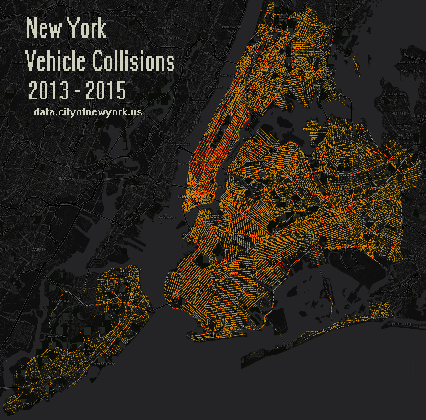 newyork2013-2015VehicleCollisions_Data_Intensity_Map