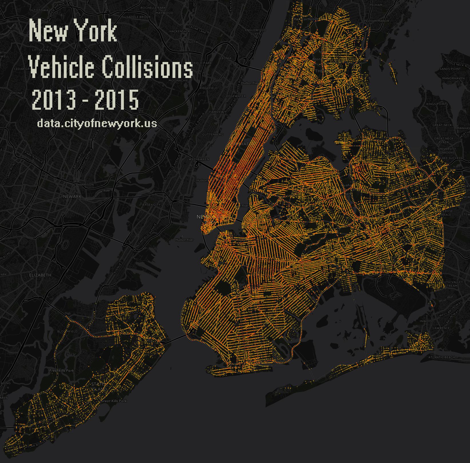 newyork2013-2015VehicleCollisions_Data_Intensity_Map