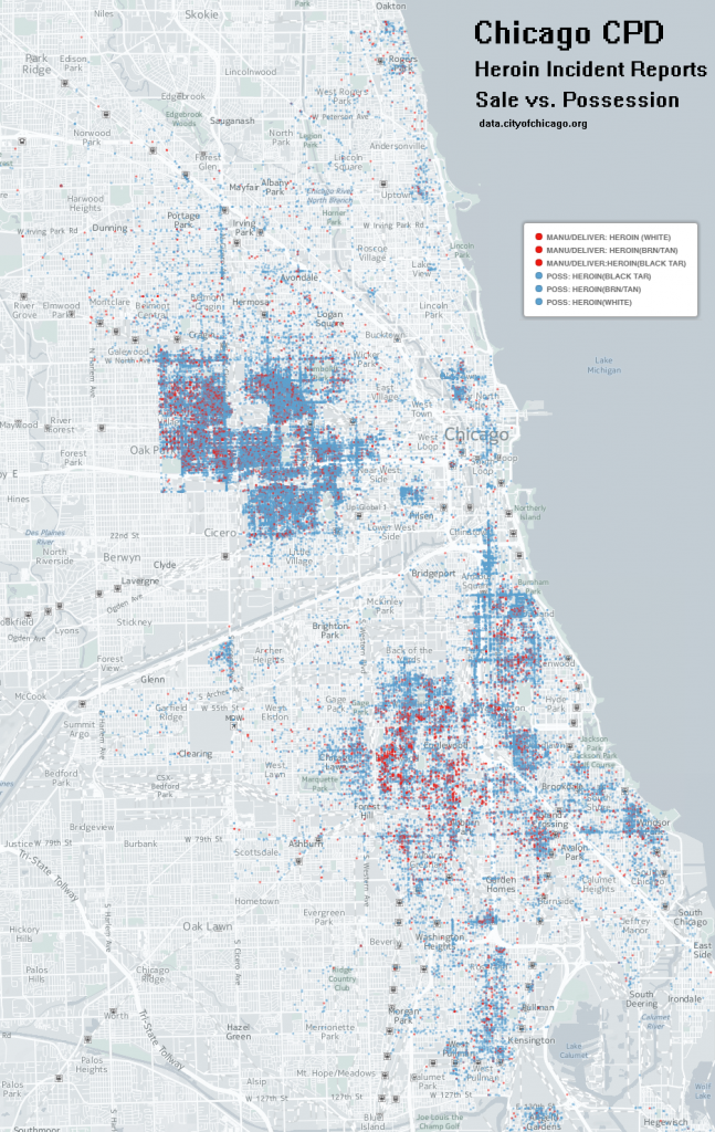 Chicago CPD Heroin Possession Vs Sale