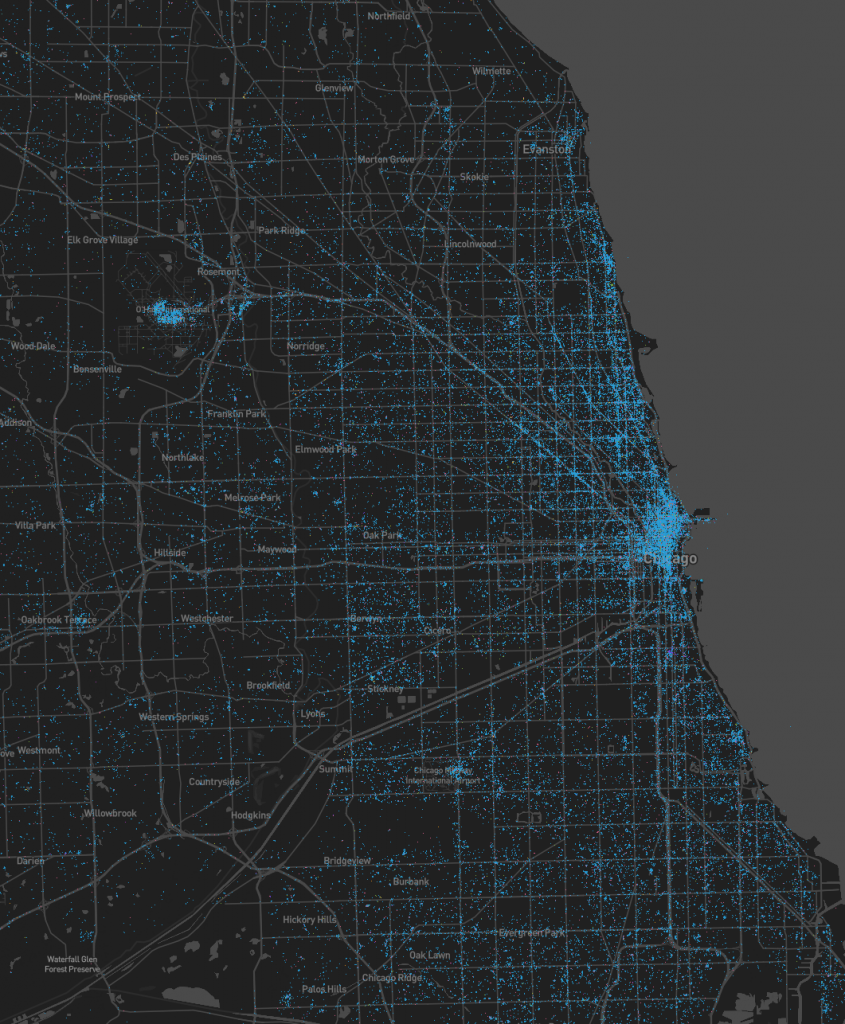 Chicago Tweet Map