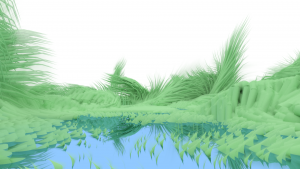 lake-with-tall-grass