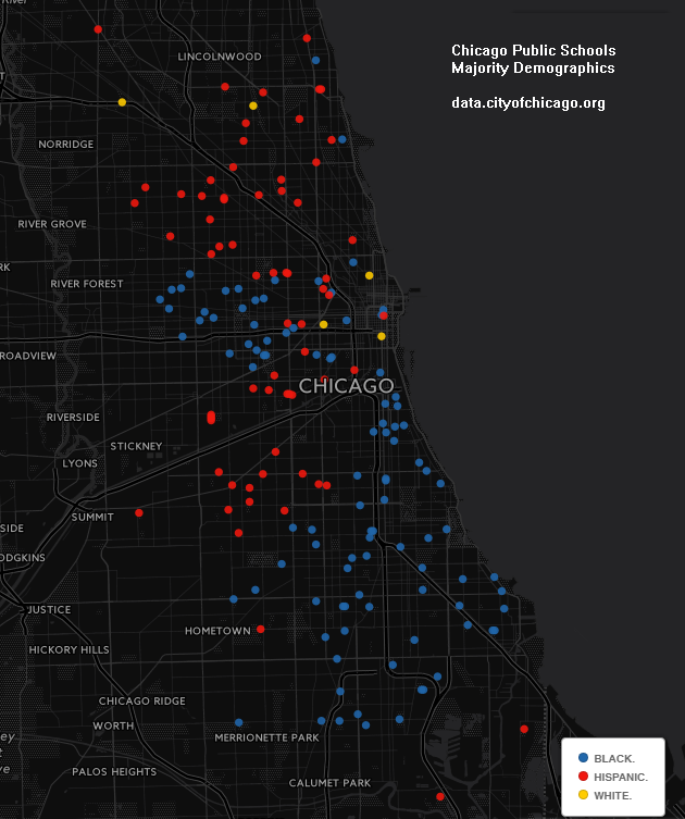 Chicago Public High Schools SY1617 Maps and Charts